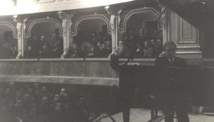 Alfred Cortot Concerto al Teatro Comunale