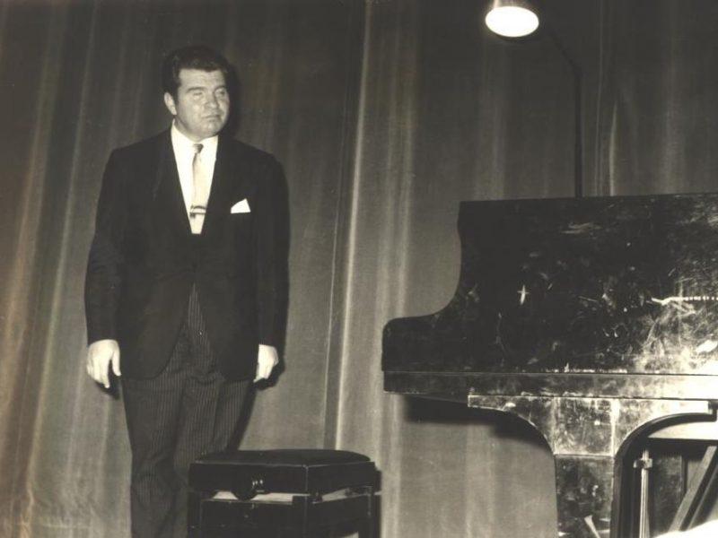 Emil Gilels. Concerto all'Auditorium Nino Carloni
