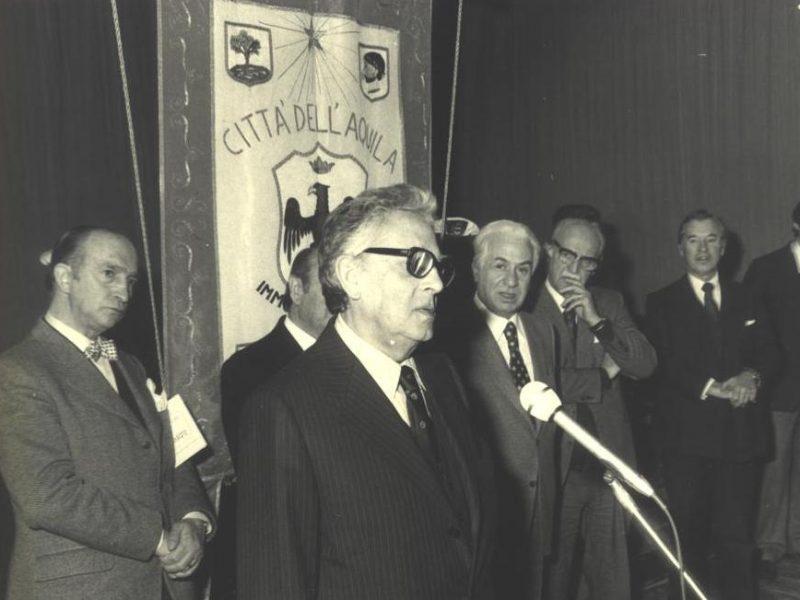Conferimento della cittadinanza onoraria a Goffredo Petrassi e Roman Vlad – Auditorium del Castello