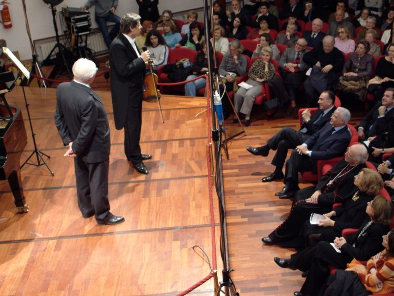 Uto Ughi all'Auditorium Nino Carloni