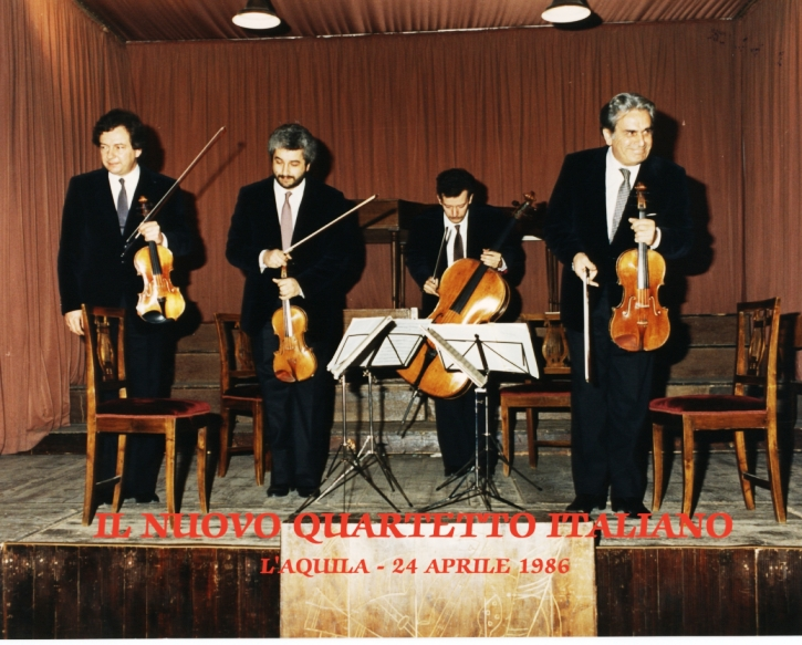 Nuovo Quartetto Italiano all'Auditorium Nino Carloni