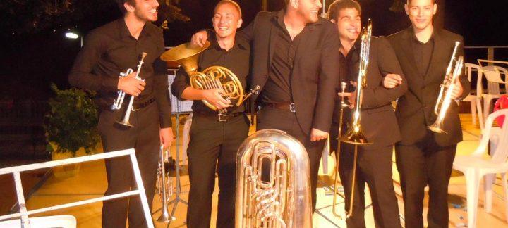 Concerto di Natale del Circolo Giovani Amici della Musica con THE STRANGE BRASS