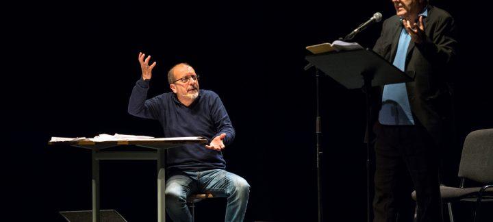 David Riondino e Dario Vergassola in La Traviata delle camelie