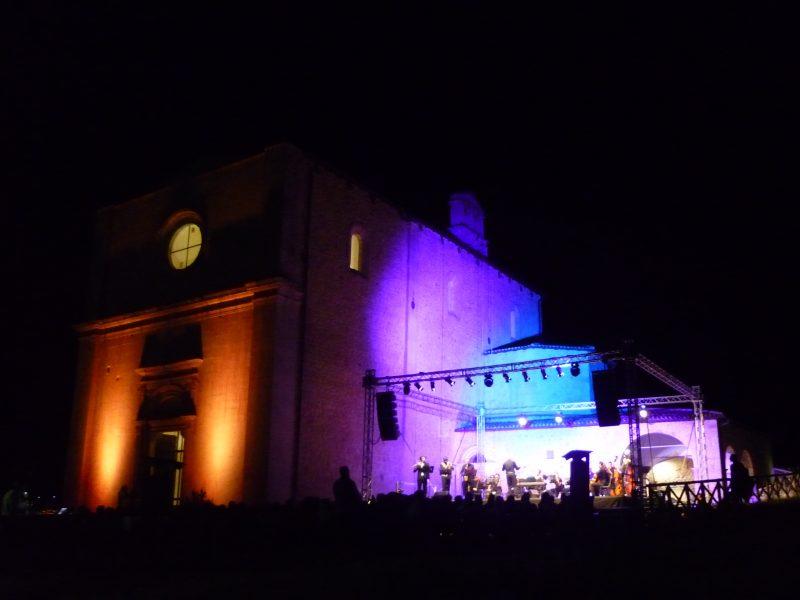 Chiesa S. M. de' Centurelli, Pino Daniele in Jazz con Orchestra Ritmo-Sinfonica del Conservatorio di Benevento
