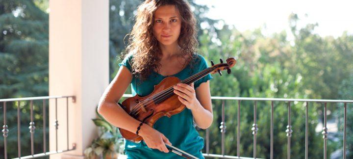 Duo Lorenza Borrani violinista e Gabriele Carcano pianista