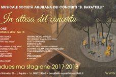 Conferenza di presentazione 72ma stagione concertistica 2017-2018