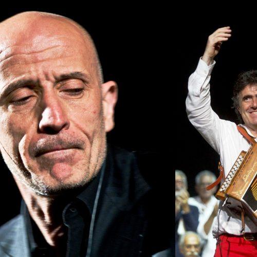 """Matinée Musicale: AMBROGIO SPARAGNA & PEPPE SERVILLO  in """"Fermarono i cieli"""" Le Canzoncine spirituali di Sant'AlfonsoMaria de' Liguori"""