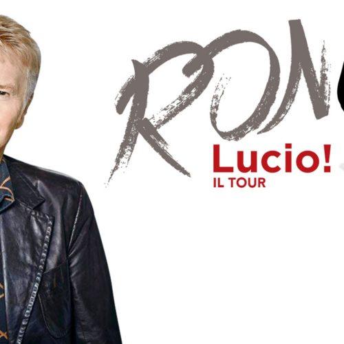 Nell'ombra della Musica Italiana. RON canta LUCIO DALLA
