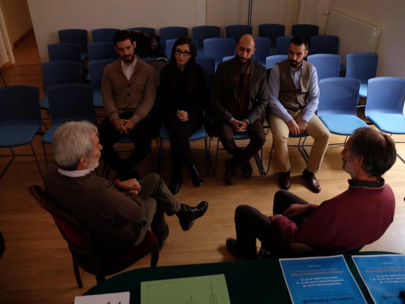 I residenti incontrano il tutor M° Stefano Baiocco e il Direttore Artistico M° Fabrizio Pezzopane
